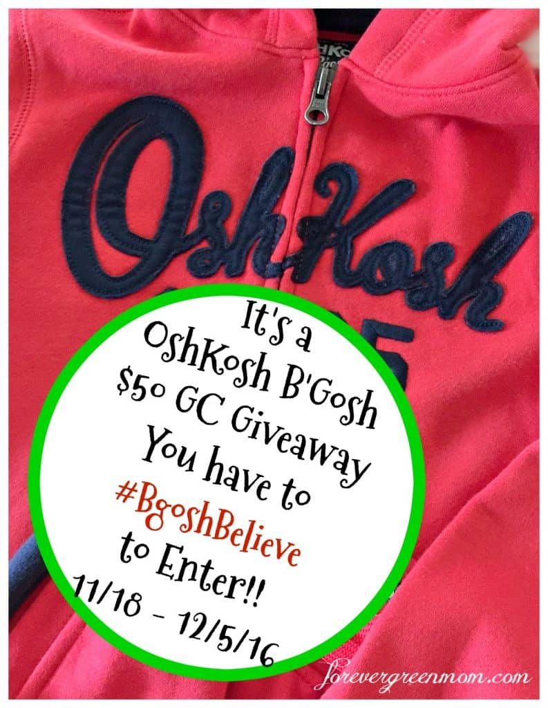 OshKosh has Kids Style for any Holiday Season + $50 OshKosh GC Giveaway